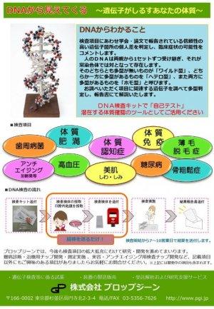 画像3: 肥満・遺伝子(DNA)検査3項目[送料無料!!]
